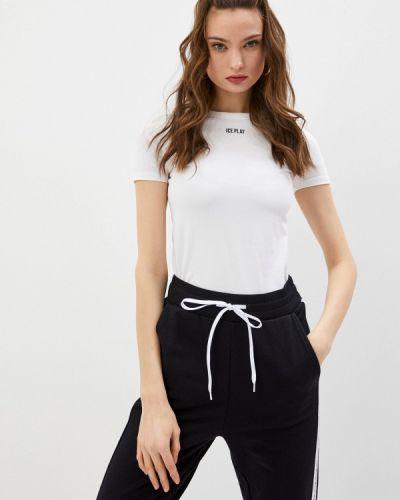 Белая футболка с короткими рукавами Ice Play
