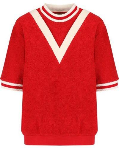 Красный спортивный топ Burberry
