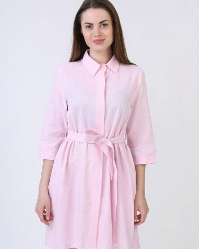 Розовая рубашка Кристина Мамедова