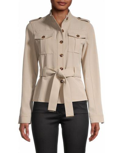 Куртка с воротником хаки Tommy Hilfiger