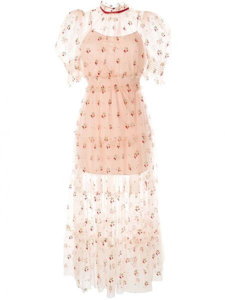 Платье мини розовое миди Alice Mccall