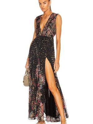 Платье макси - черное Rococo Sand