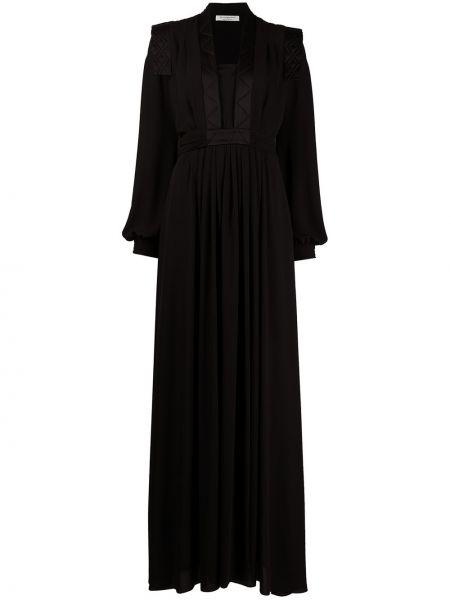 Расклешенное платье - черное Philosophy Di Lorenzo Serafini