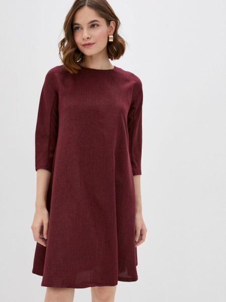 Фиолетовое повседневное платье Maurini