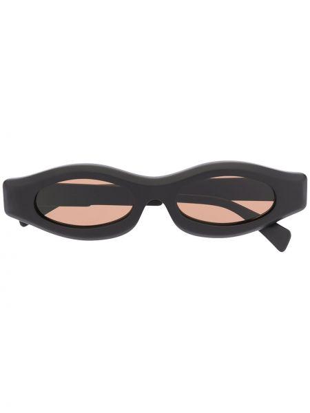 Солнцезащитные очки черные хаки Kuboraum