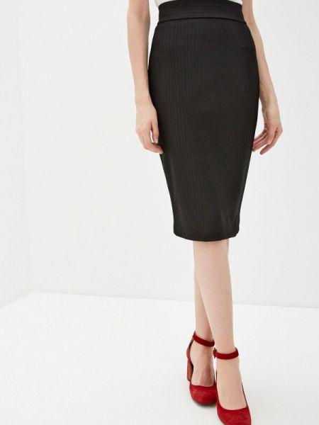 Клубная черная юбка узкого кроя Concept Club