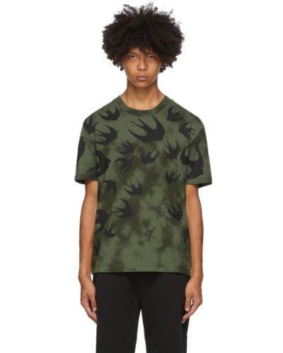 Bawełna czarny koszula krótkie z krótkim rękawem z kołnierzem krótkie rękawy Mcq Alexander Mcqueen
