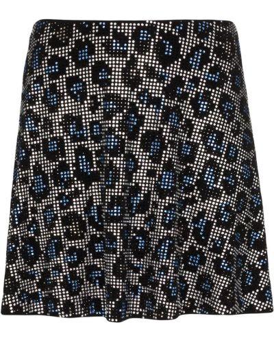 Синяя спортивная юбка мини с потайной застежкой Adam Selman Sport