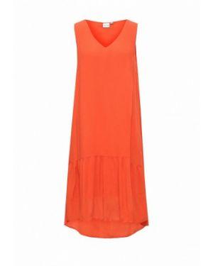 Оранжевое платье Selected Femme