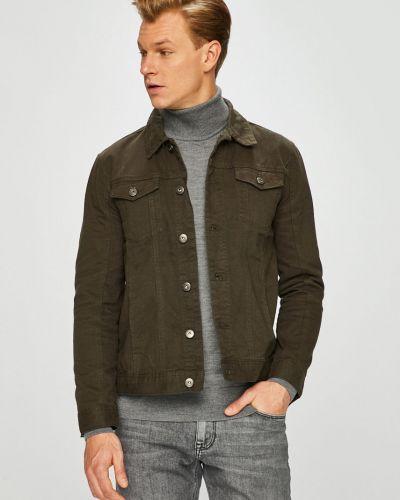 Джинсовая куртка милитари укороченная Brave Soul