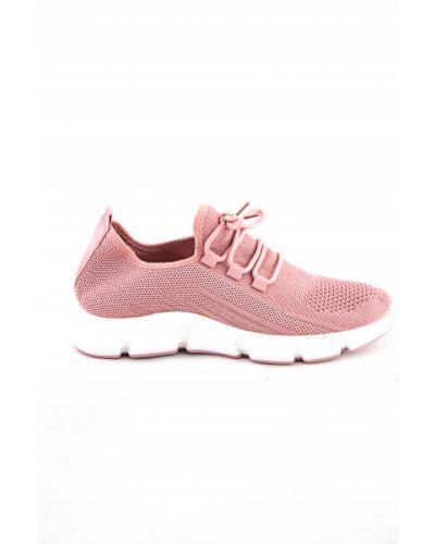 Розовые ботинки летние Meitesi