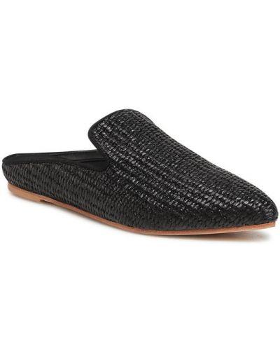 Sandały - czarne Weekend Max Mara