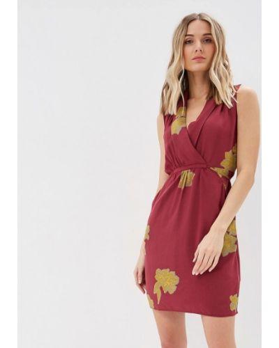 Платье бордовый красный Sela