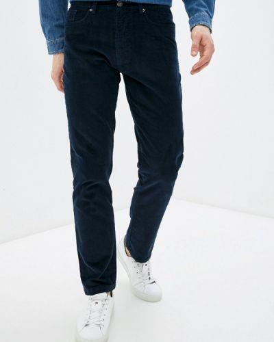 Прямые синие брюки Angelo Bonetti