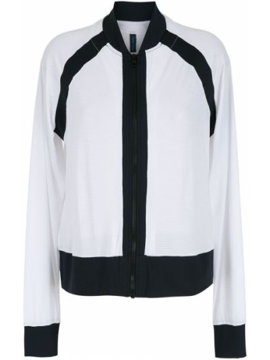 Белая куртка на молнии Lygia & Nanny