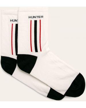 Белые носки Hunter