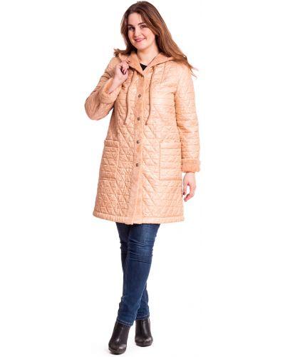 Пальто с капюшоном на синтепоне на кнопках Lacywear