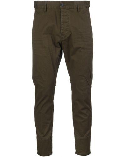 Przycięte spodnie, zielony Dsquared2