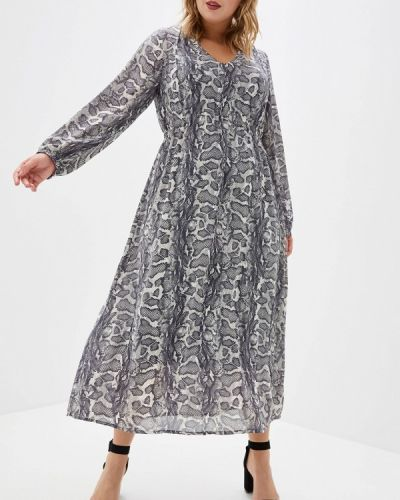 Повседневное платье осеннее Ulla Popken