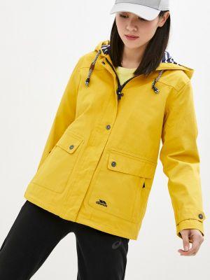 Желтая куртка Trespass