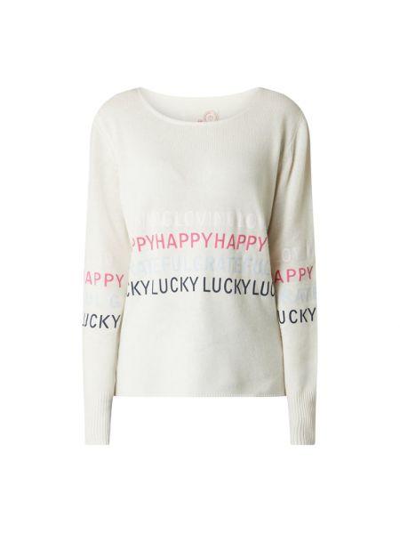 Sweter wełniany - biały Lieblingsstück