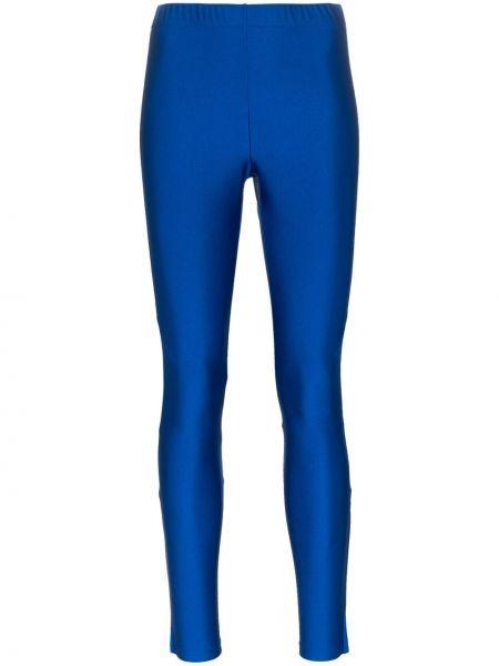 Legginsy z logo niebieski Gucci