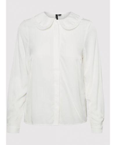Biały sweter Vero Moda Curve