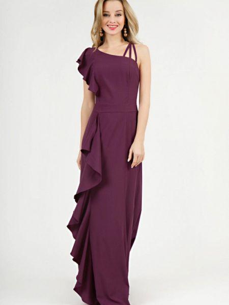Вечернее платье осеннее фиолетовый Marichuell