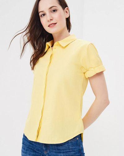 Желтая рубашка с коротким рукавом Befree