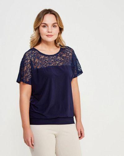 Блузка синяя весенний Sparada