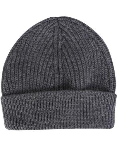 Szara czapka Maison Margiela