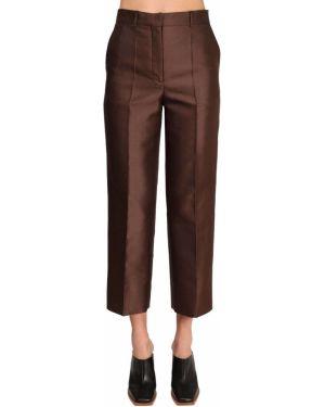 Przycięte spodnie z wysokim stanem z kieszeniami Givenchy