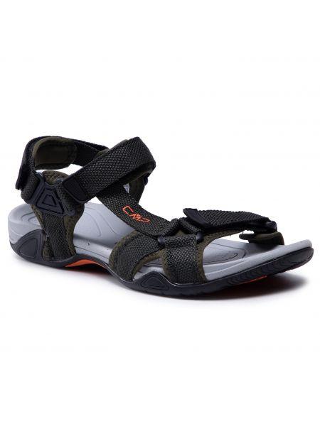 Klasyczne sandały - zielone Cmp