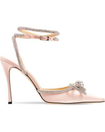 Розовые туфли с пряжкой Mach & Mach