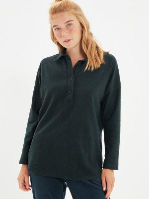 Koszula zapinane na guziki - khaki Trendyol