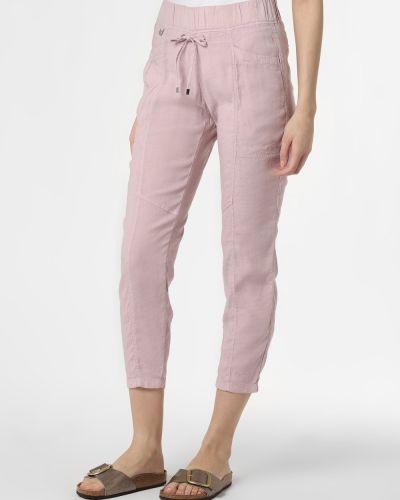 Różowe spodnie ocieplane Rosner