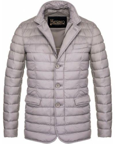 Płaszcz - szary Herno