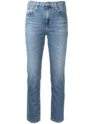 Прямые джинсы классические - синие Ag Jeans