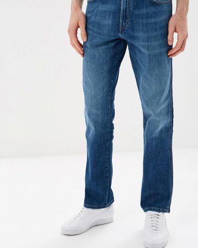 Синие прямые джинсы Wrangler