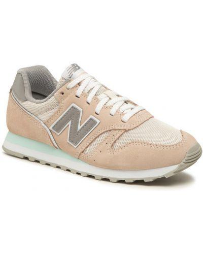 Beżowe sneakersy New Balance