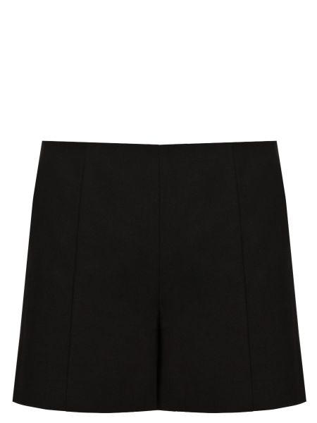 Классические черные шорты с карманами на молнии Chapurin