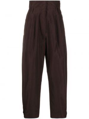 Укороченные брюки - коричневые Dorothee Schumacher