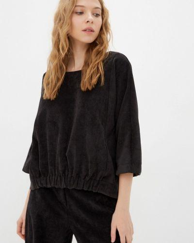 Блузка с длинными рукавами - черная Vivostyle