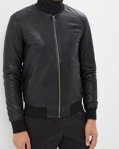 Куртка осенняя кожаная Blouson