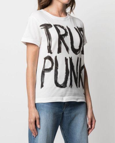 Белая футболка с вырезом Vivienne Westwood