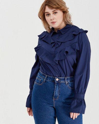 Синяя блузка Lost Ink Plus
