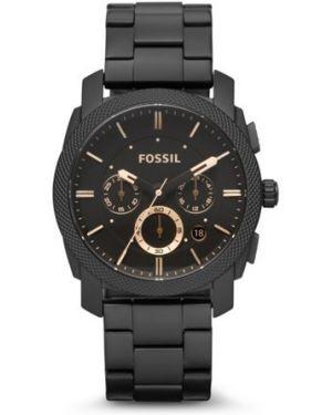 Часы водонепроницаемые универсальный черный Fossil