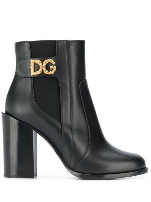 Wysoki buty na obcasie na pięcie Dolce And Gabbana