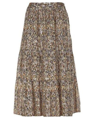 Brązowa spódnica Ba&sh