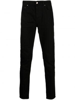 Czarne mom jeans bawełniane Ksubi